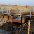 Steertlochsiel - Umrüstung in ein Schöpfwerk Los 1: Stahlwasserbau, Stauhaltung
