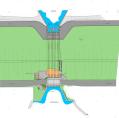 Deichsiel Sommerkoog-Steertloch Umrüstung des Siels in ein Schöpfwerk